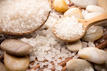 Fototapete - Bath salt.