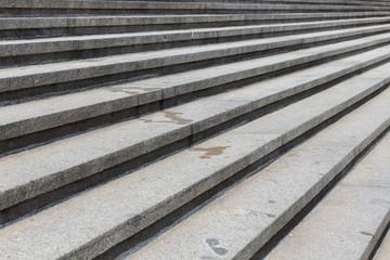 Granite stone steps background
