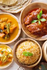 Biryani rice or pilaf rice