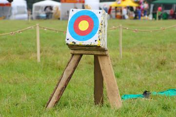 Target on field