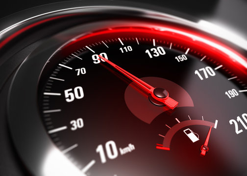 Reducing Speed Safe Driving Concept
