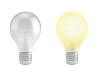 Regular light bulb lamps,