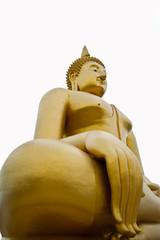 Golden Big Buddha Image