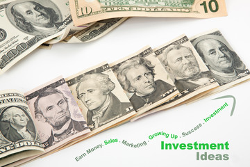 Creative investment of U.S. currency