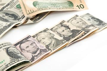 U.S. Dollars all bills currency