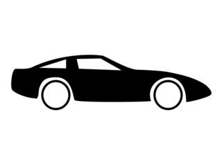 Fototapete - Auto Seitenansicht Sportwagen