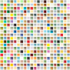 Abstract geometric seamless background of color blocks