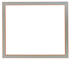 simple grey narrow flat picture frame