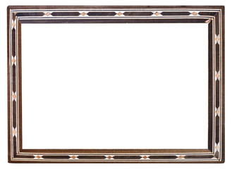 retro inlaid narrow picture frame