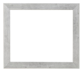simple flat wide silver picture frame