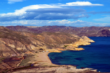 Natural park Cabo de Gata, Almeria, Spain