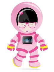 kokeshi cosmonaute