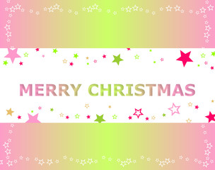 christmas background pink and green
