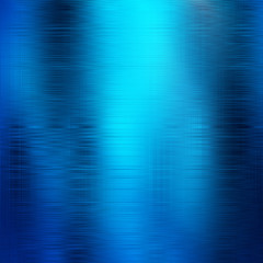 Poster de jardin Metal Abstract bluebackground.