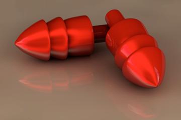 Gehörschutz - 3D Render