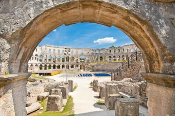 Wall Mural - Roman amphitheatre (Arena) in Pula. Croatia.