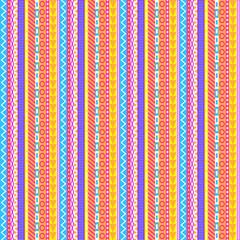 Intricate Pastel Stripes Pattern
