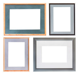 set of picture frame with mat