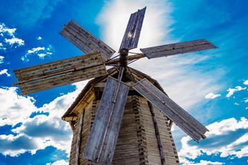 Spoed Fotobehang Molens ludorvay windmill