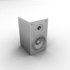 Speaker. 3d isolated