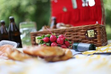 Autocollant pour porte Pique-nique Picknick