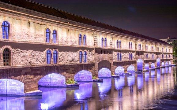 Barrage Vauban à Strasbourg, Alsace