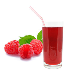 sok malinowy