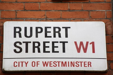 Rupert Street a Famous Address in London