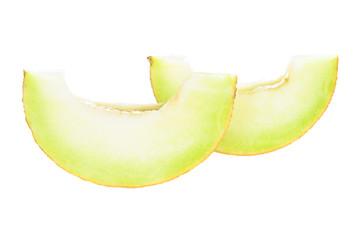 Fresh Ripe Honeydew Melon Slices