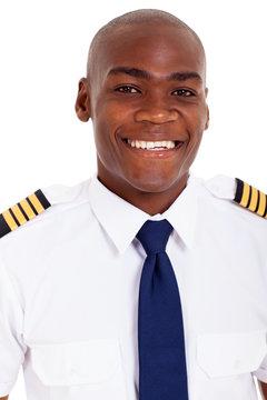 african american pilot in uniform