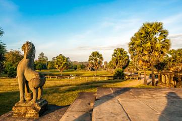 Morning in Angkor Wat