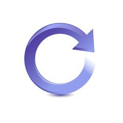 Vector Refresh Symbol