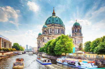 Foto auf Leinwand Berlin Berlin Cathedral. Berliner Dom. Berlin, Germany