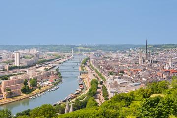 The Sena in Rouen