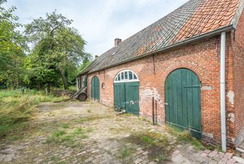 Historic Dutch farm from 1885