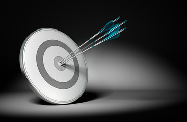 Successful Company Objectives - Business Concept