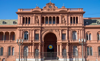 The Casa Rosada in Buenis Aires