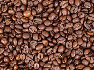 medium roated fresh coffee beans