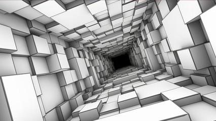 Fototapeta tunnel obraz