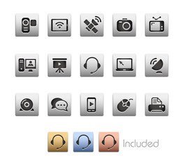 Communication Icons_Vector includes 4 color versions= Layers