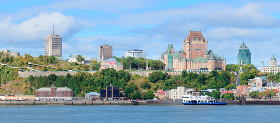 Fototapete - Quebec City skyline