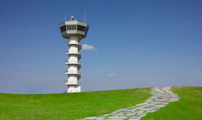 Radar tower airport communication