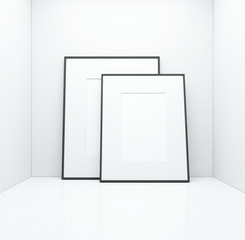 white posters