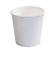 The single paper cups.