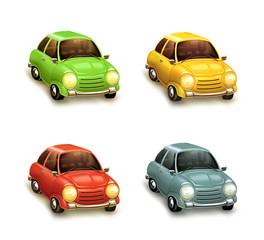 Cars, icon set