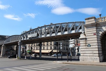 Paris pont de Bercy