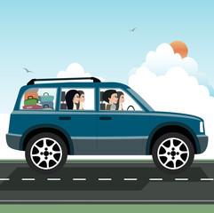 Women's driving.