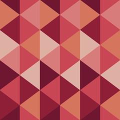 Reddish Triangle Background Pattern