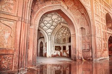 Keuken foto achterwand India Red fort in India