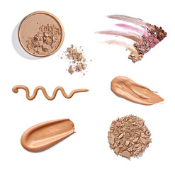 powder liquid make up beauty